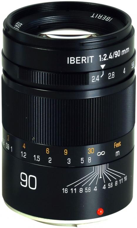 Kipon Iberit 90mm f2,4 Vollformat Fuji X