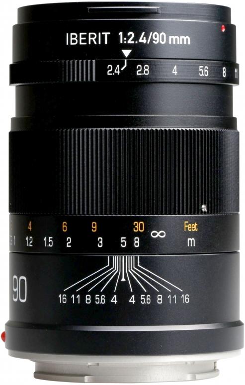 Kipon Iberit 90mm f2,4 Vollformat Sony E