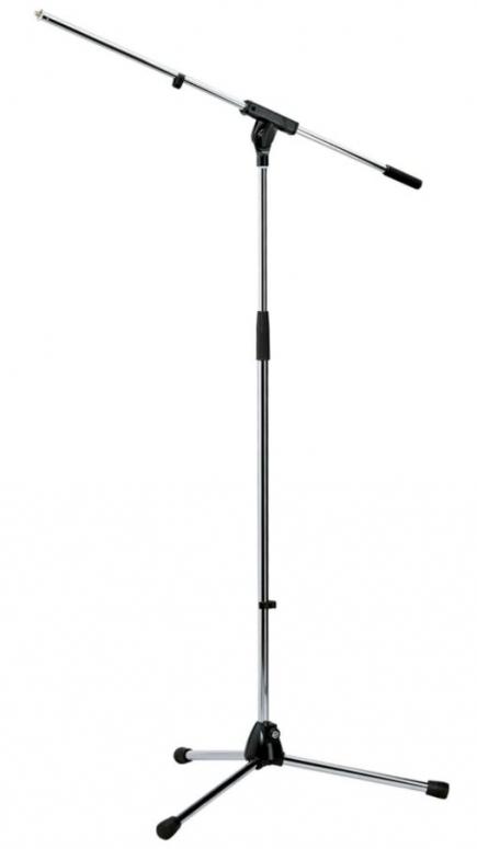K&M 210/6 Mikrofonstativ verchromt