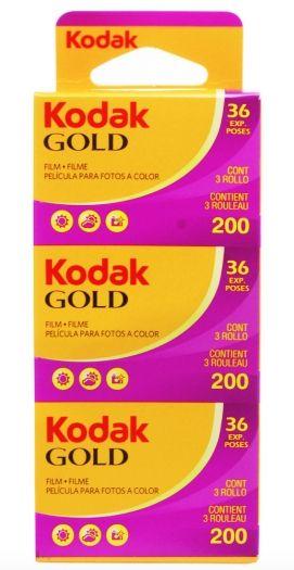 Kodak Gold 200 135/36 3er Pack
