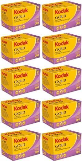Kodak Gold Farbfilm 200 135-24 10er Pack