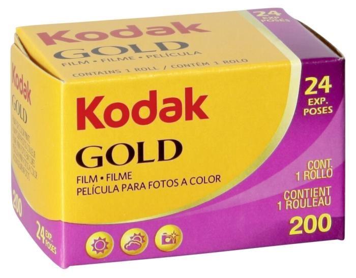 Kodak Gold Farbfilm 200 135-24 Aufnahmen