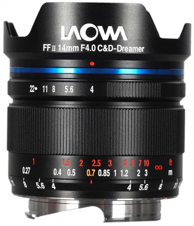 LAOWA 14mm f/4 FF RL Zero-D für Leica M