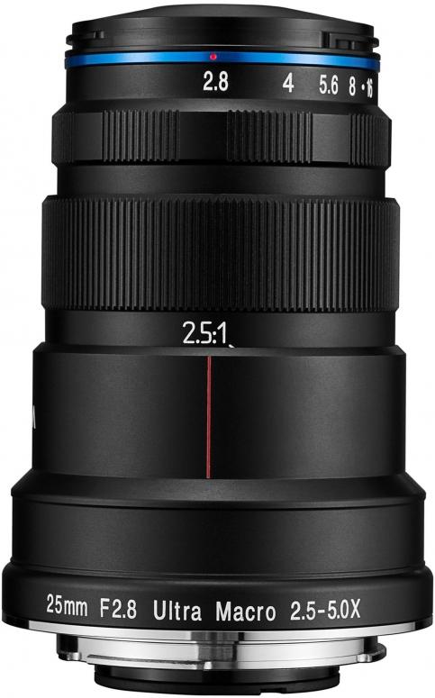 LAOWA 25mm f2,8 Ultra Macro 2,5-5x für Canon EF