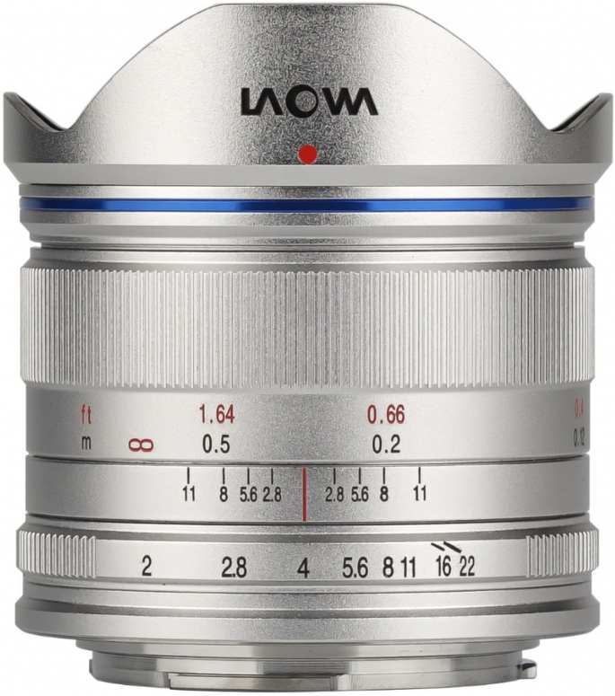 LAOWA 7,5mm f2 für MFT drone silber