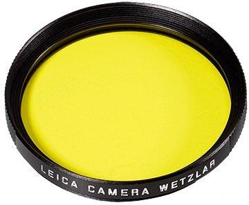 Leica E49 Filter gelb/schwarz
