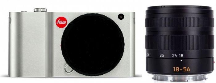 Leica TL silbern eloxiert + Leica Vario-Elmar-T 18-56mm f3,5-5,6 Asph.