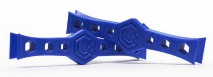 Lume Cube Montageschienen blau für Phantom 3