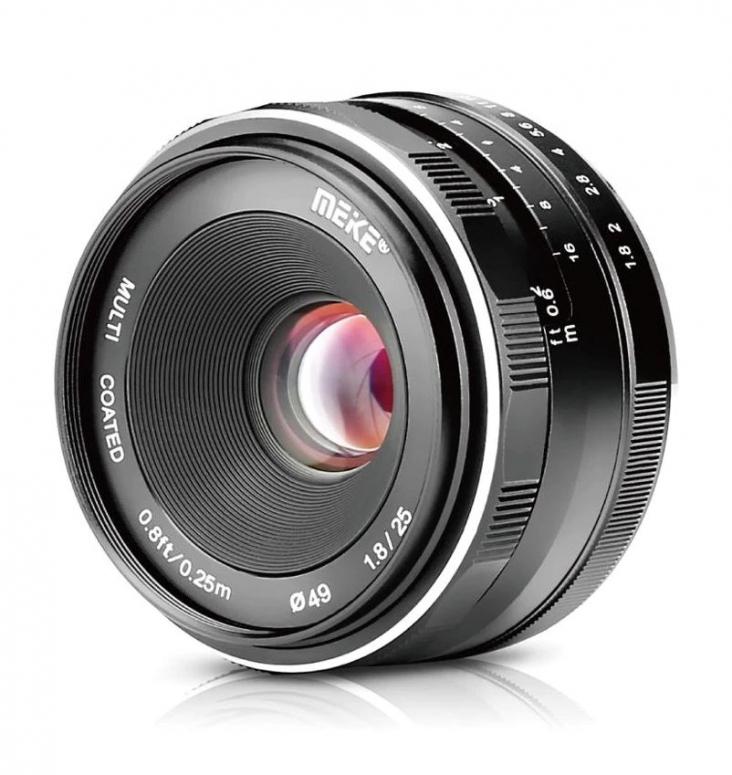 Meike 25mm f1,8 Sony E Mount