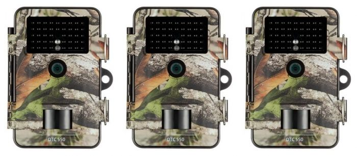 Minox DTC 550 camouflage 3er Pack
