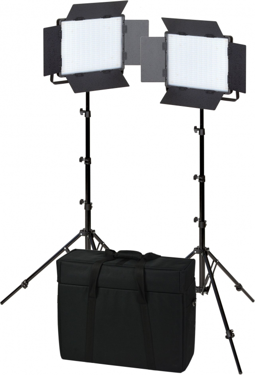 NANLITE 3758 LED Beleuchtungs Set 900CSA DoubleKit