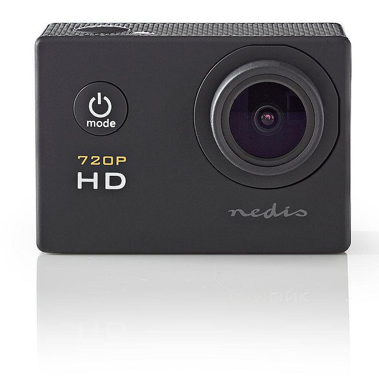 Nedis HD Action Cam 720p schwarz