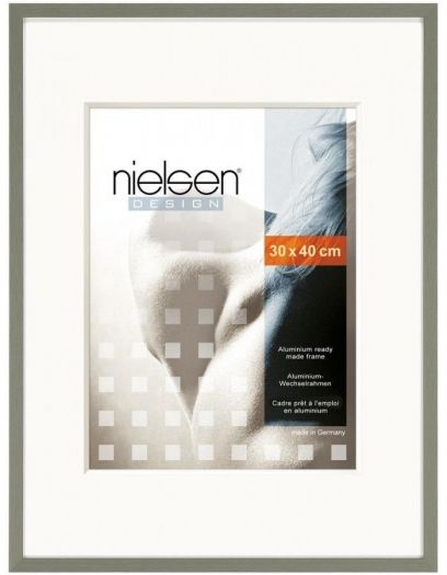 Nielsen 63051 Metallbilderrahmen C2 30x40 63051 struktur grau