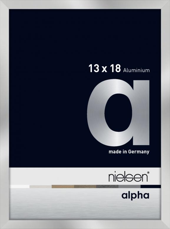 Nielsen Alpha Silber 13x18cm 1632003