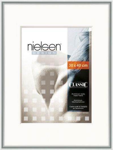 Nielsen Classic SRC Alurahmen 30x40 cm silber