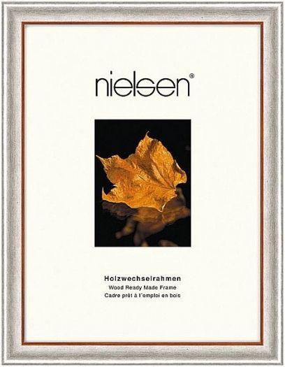 Nielsen Derby Holzrahmen 30x40 silber