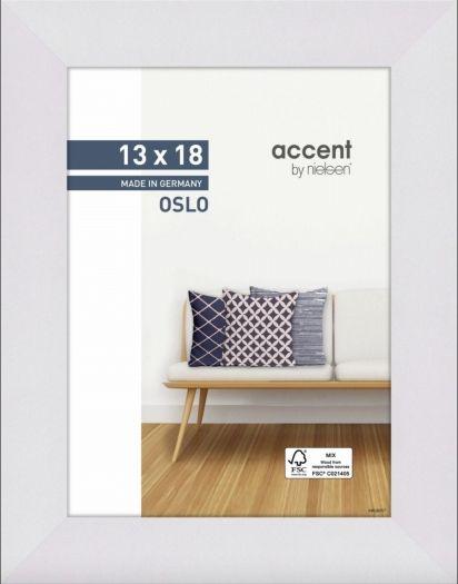Nielsen Holzrahmen 299267 Oslo 13x18cm weiß