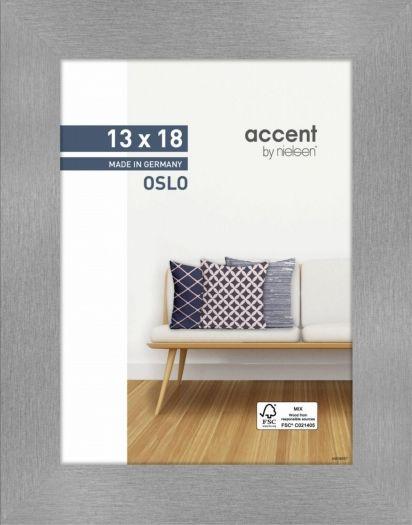 Nielsen Holzrahmen 299275 Oslo 13x18cm silber