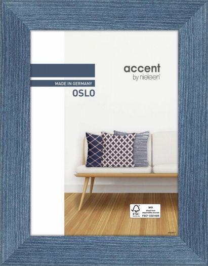 Nielsen Holzrahmen 299293 Oslo 18x24cm blau
