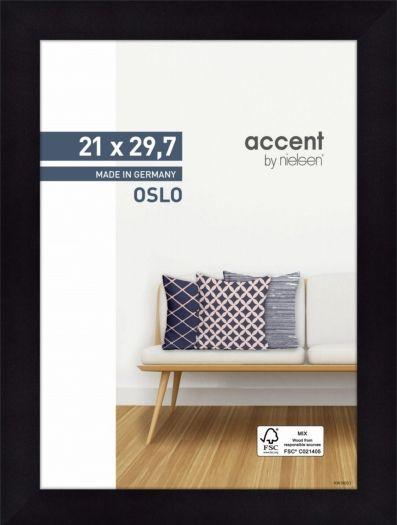 Nielsen Holzrahmen 299301 Oslo 21x29,7cm schwarz