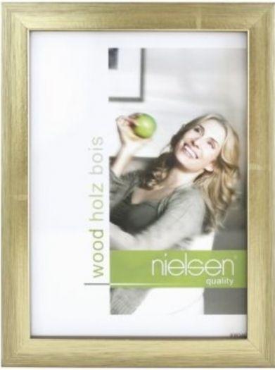Nielsen Holzrahmen 6532009 Quadrum 13x18cm gold