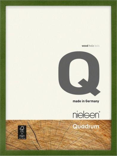 Nielsen Holzrahmen 6532013 Quadrum 13x18cm grün