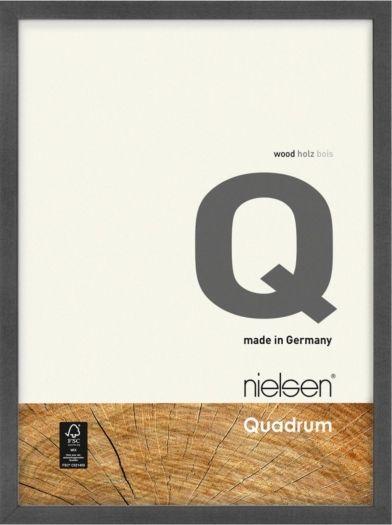 Nielsen Holzrahmen 6532014 Quadrum 13x18cm grau