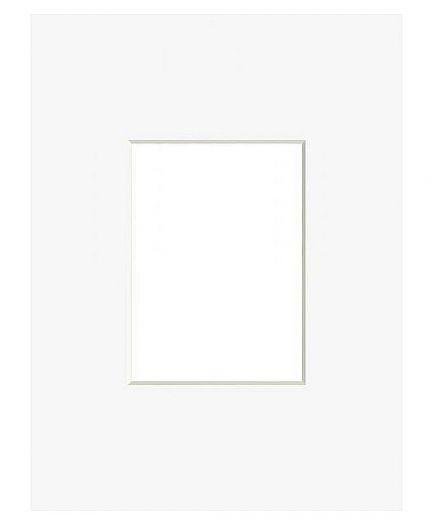 Nielsen Passepartout 30x40 mit 20x30 Ausschnitt porzellan