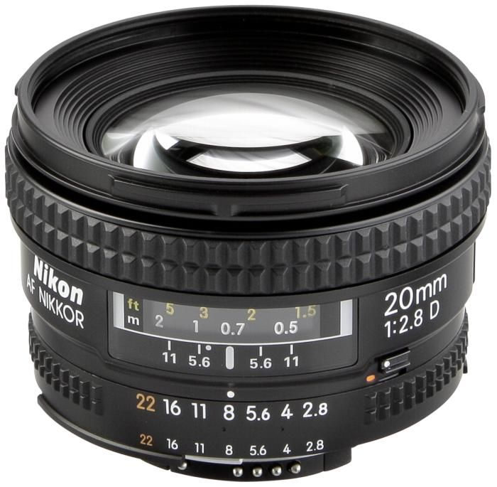 Nikon AF 20mm 1:2,8 D