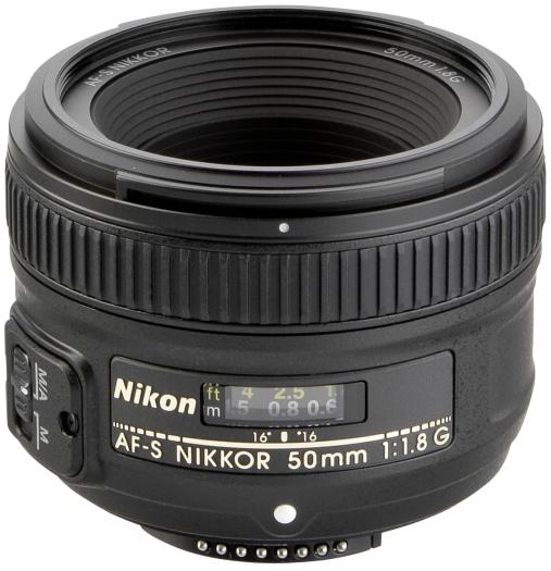 Nikon AF-S 50mm Nikkor 1:1,8G
