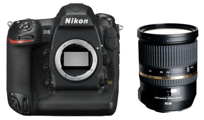 Nikon D5 CF + Tamron 24-70mm 2.8 SP DI VC USD