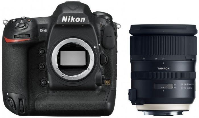Nikon D5 XQD + Tamron SP 24-70mm f2,8 Di VC USD G2