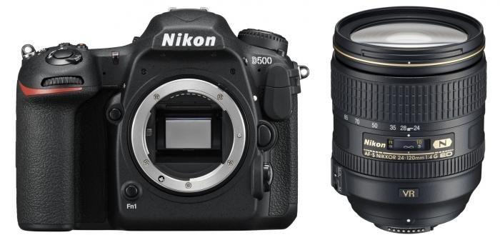 Nikon D500 + 24-120mm AF-S 1:4G ED VR
