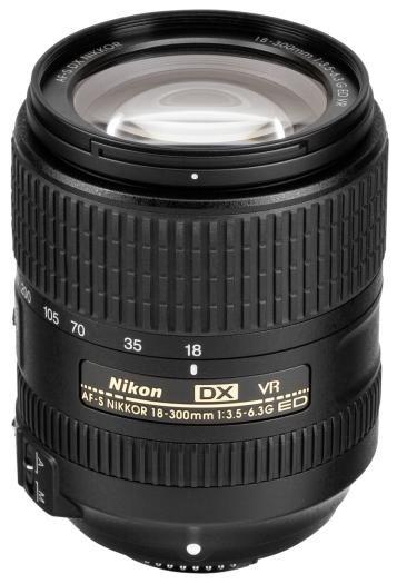 Nikon D500 + AF-S DX 18-300mm f3,5-6,3 G ED VR