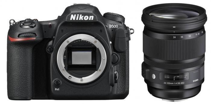 Nikon D500 + Sigma 24-105mm F4 DG OS HSM