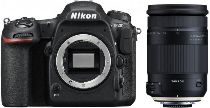 Nikon D500 + Tamron 18-400mm f3,5-6,3 Di II VC HLD