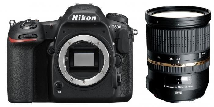 Nikon D500 + Tamron 24-70mm 2.8 SP DI VC USD