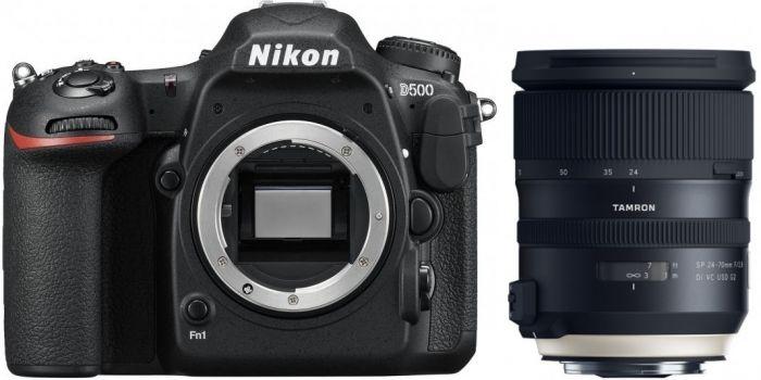 Nikon D500 + Tamron SP 24-70mm f2,8 Di VC USD G2