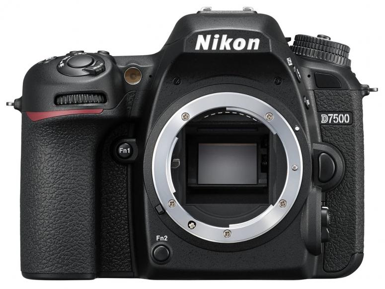Nikon D7500 Gehäuse schwarz