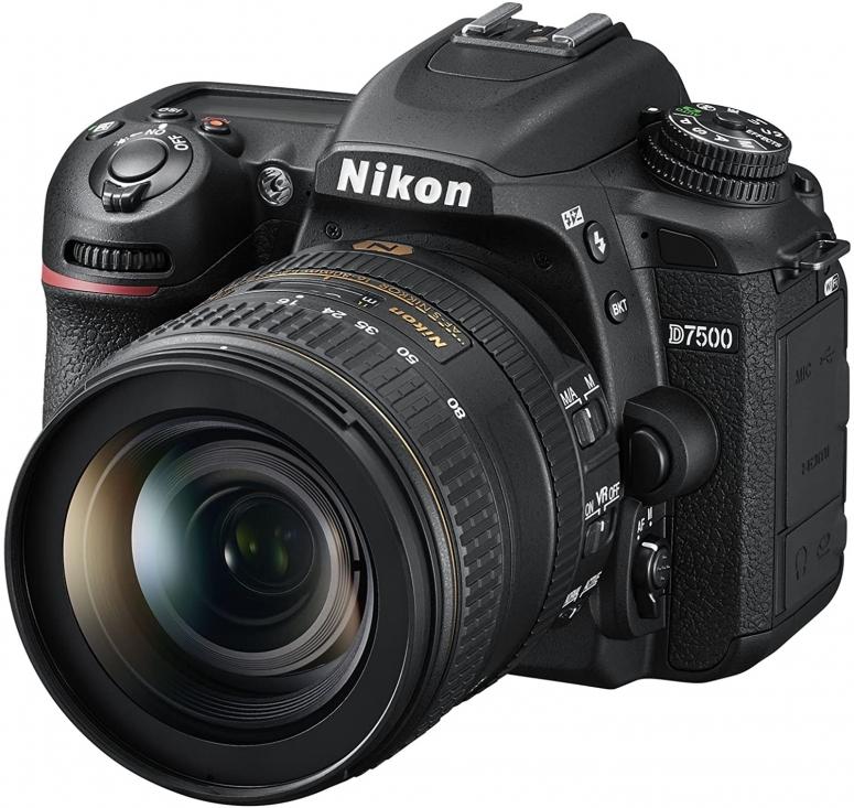 Nikon D7500 KIT AF-S DX 16-80mm f2.8-4E ED VR