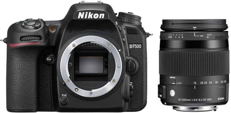 Nikon D7500 + Sigma 18-200mm f3,5-6,3 DC HSM OS C III