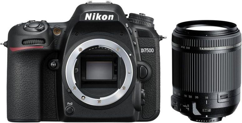 Nikon D7500 + Tamron 18-200mm f3,5-6,3 DI II VC