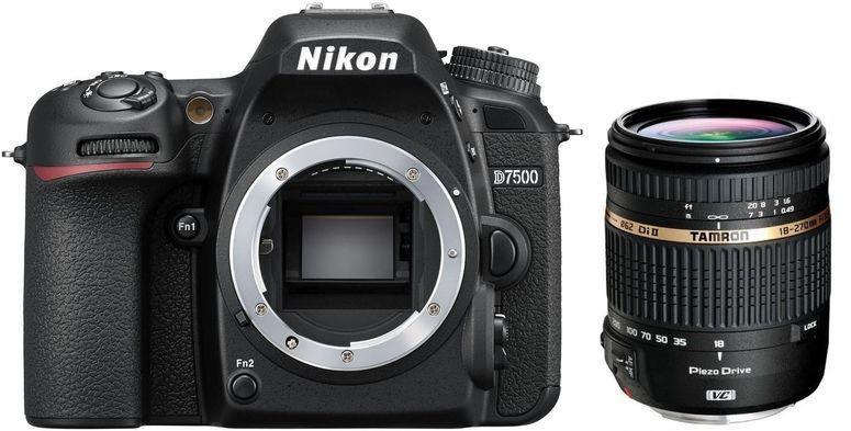 Nikon D7500 + Tamron 18-270mm f3,5-6,3 Di II VC PZD