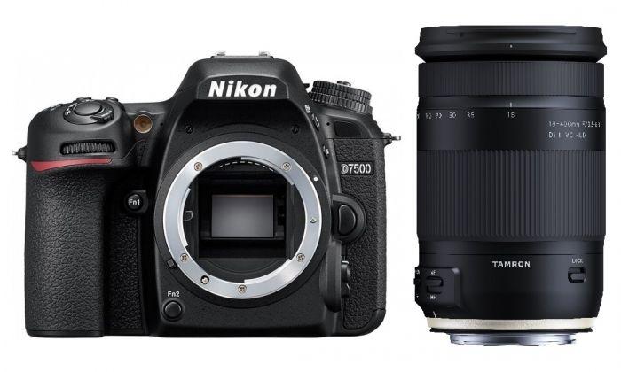 Nikon D7500 + Tamron 18-400mm f3,5-6,3 Di II VC HLD