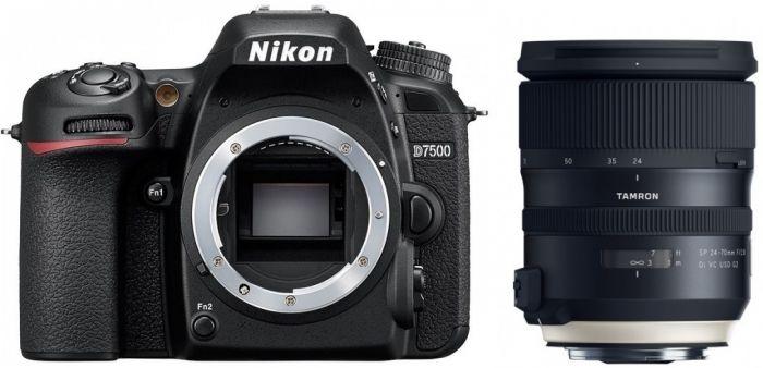 Nikon D7500 + Tamron SP 24-70mm f2,8 Di VC USD G2