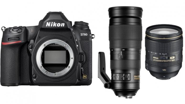 Nikon D780 + AF-S 24-120mm f4G ED VR + AF-S 200-500mm f5,6 ED VR