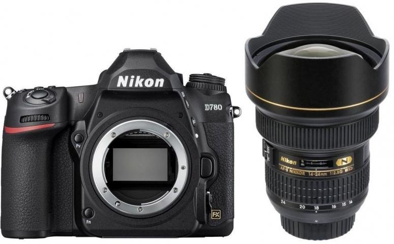 Nikon D780 Gehäuse + AF-S 14-24mm f2.8 G ED