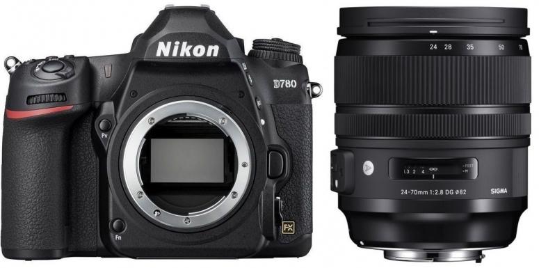 Nikon D780 + Sigma 24-70mm f2,8 DG OS HSM (A)