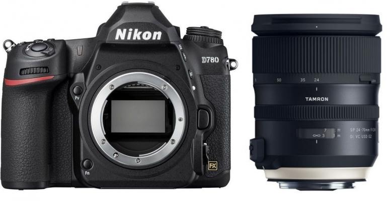 Nikon D780 + Tamron SP 24-70mm f2,8 Di VC USD G2