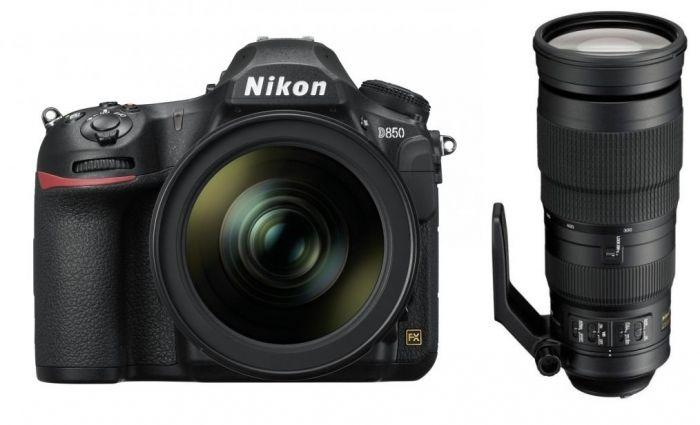 Nikon D850 + 24-120mm f4G ED VR + 200-500mm f5,6 ED VR